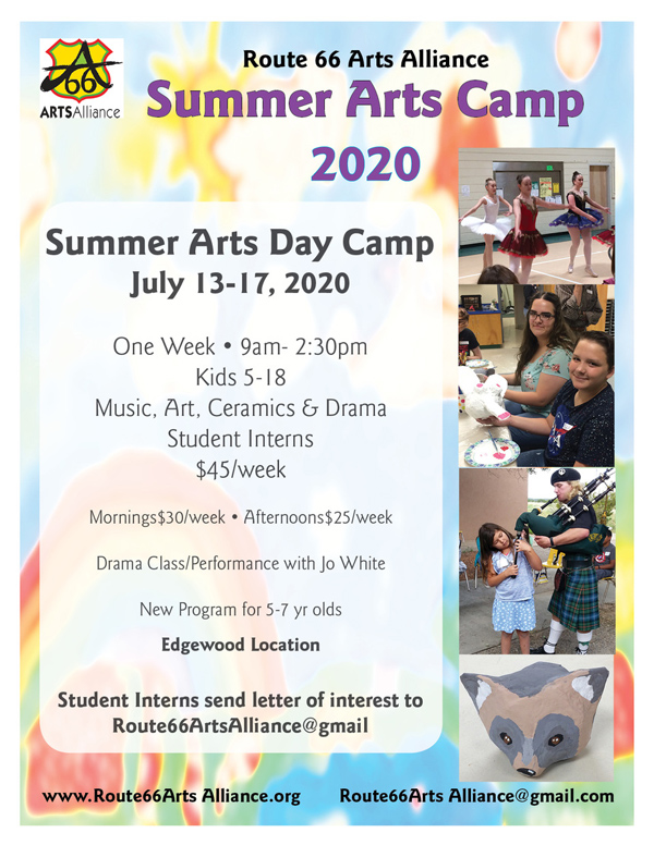 2020 Summer Arts Day Camp